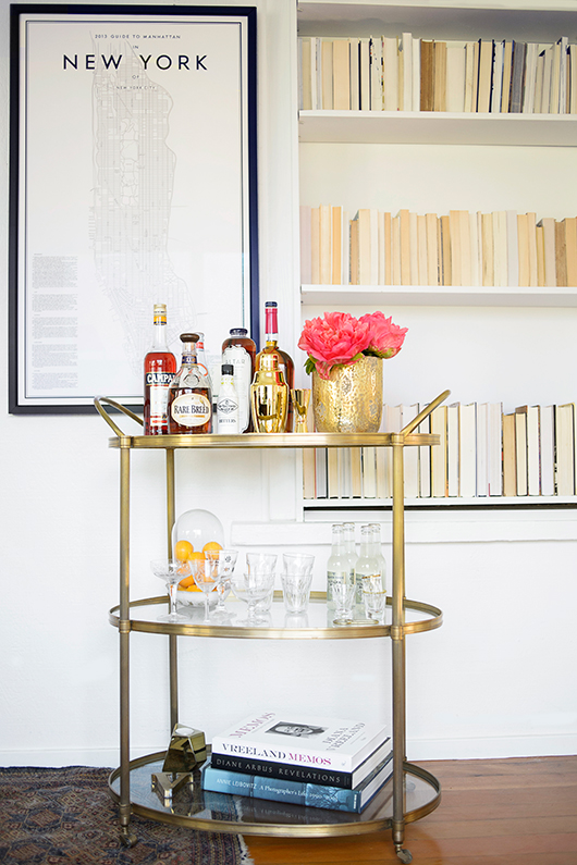 women & whiskies: a bar cart giveaway / sfgirlbybay