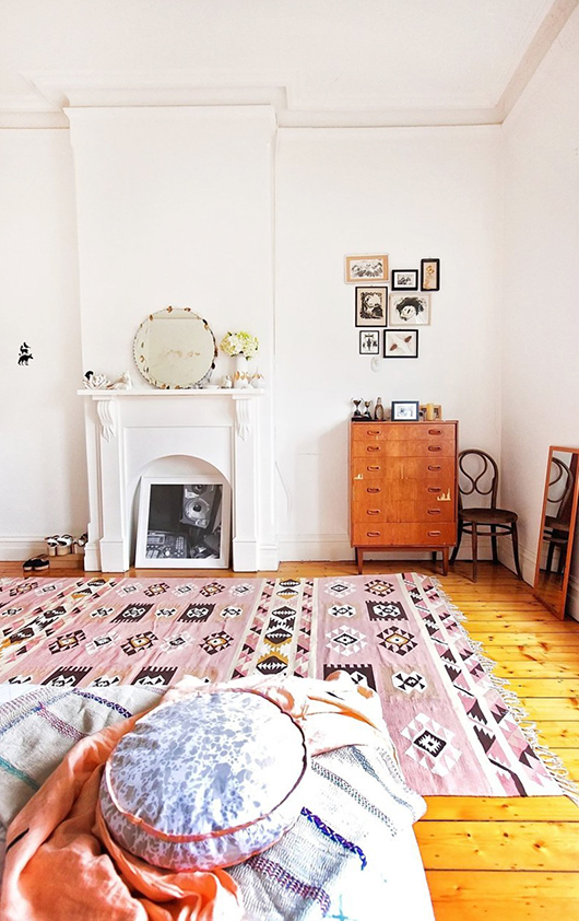 bedroom in brunswick via apartment therapy / sfgirlbybay