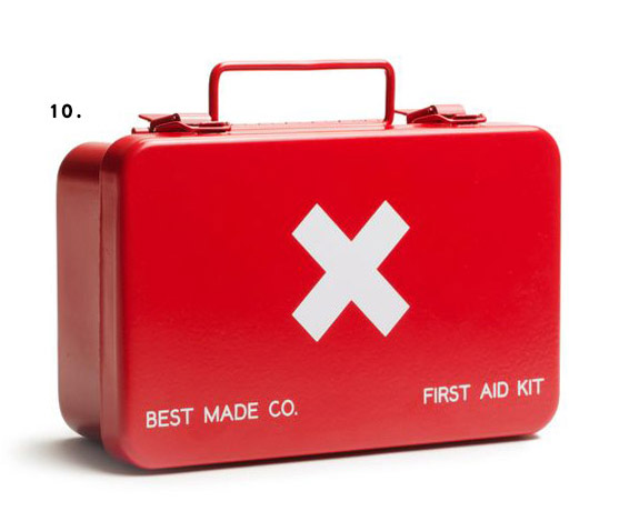 red and white first aid kit / sfgirlbybay