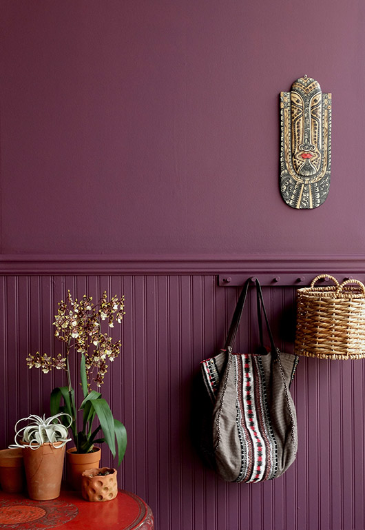 bright purple paint inspired by brazil by colorhouse / sfgirlbybay