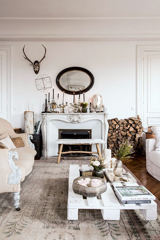 paris apartment tour via milk decoration. / sfgirlbybay