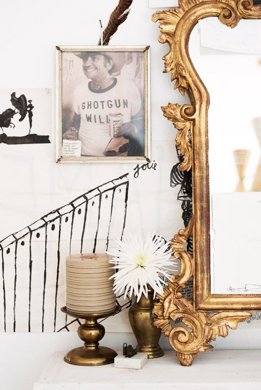 baroque wall decor. / sfgirlbybay
