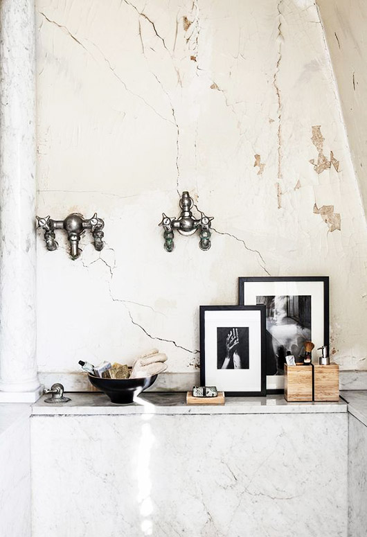baroque bathroom decor. / sfgirlbybay